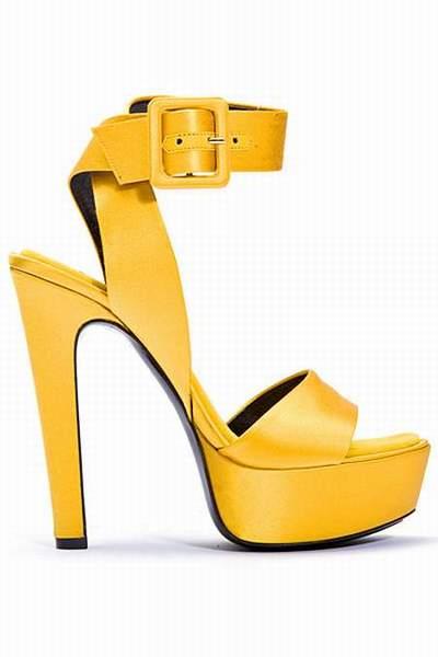 look chaussures jaunes. Black Bedroom Furniture Sets. Home Design Ideas